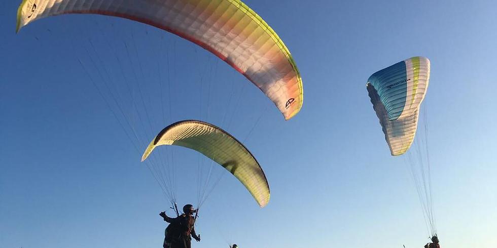 31 Temmuz - 15 Ağustos Yamaç Paraşütü Başlangıç Eğitimi (P1-P2)