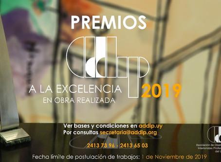 Premio ADDIP 2019 a la Excelencia en Obra Realizada