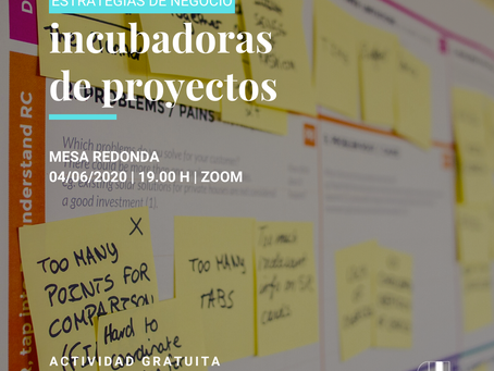 Incubadoras de proyectos