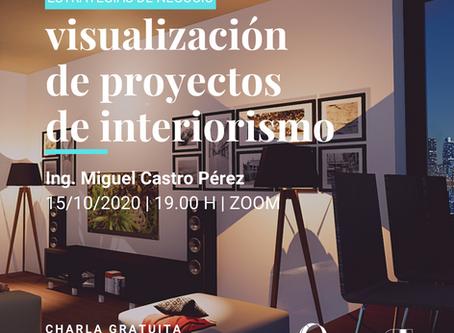 Visualización de proyectos de interiorismo