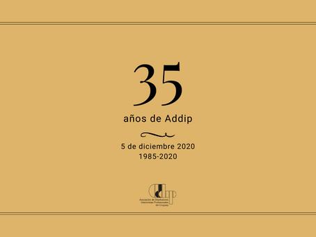 La historia de Addip: los 35 años
