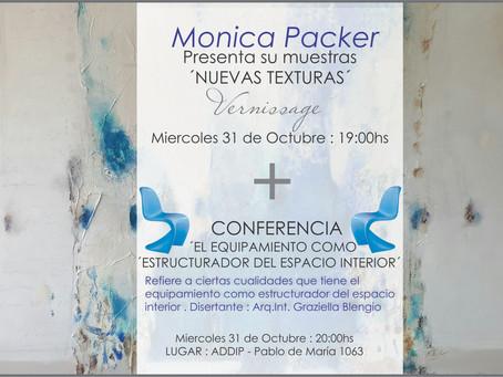 Vernissage + Conferencia