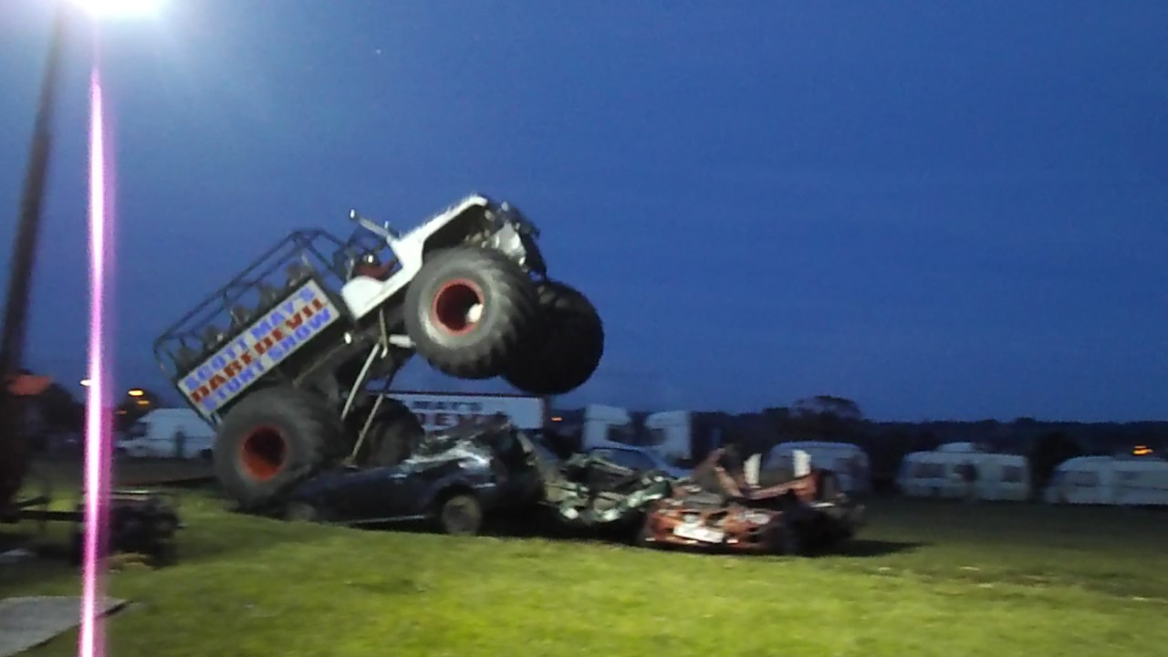SLAINE MONSTER TRUCK JUMP