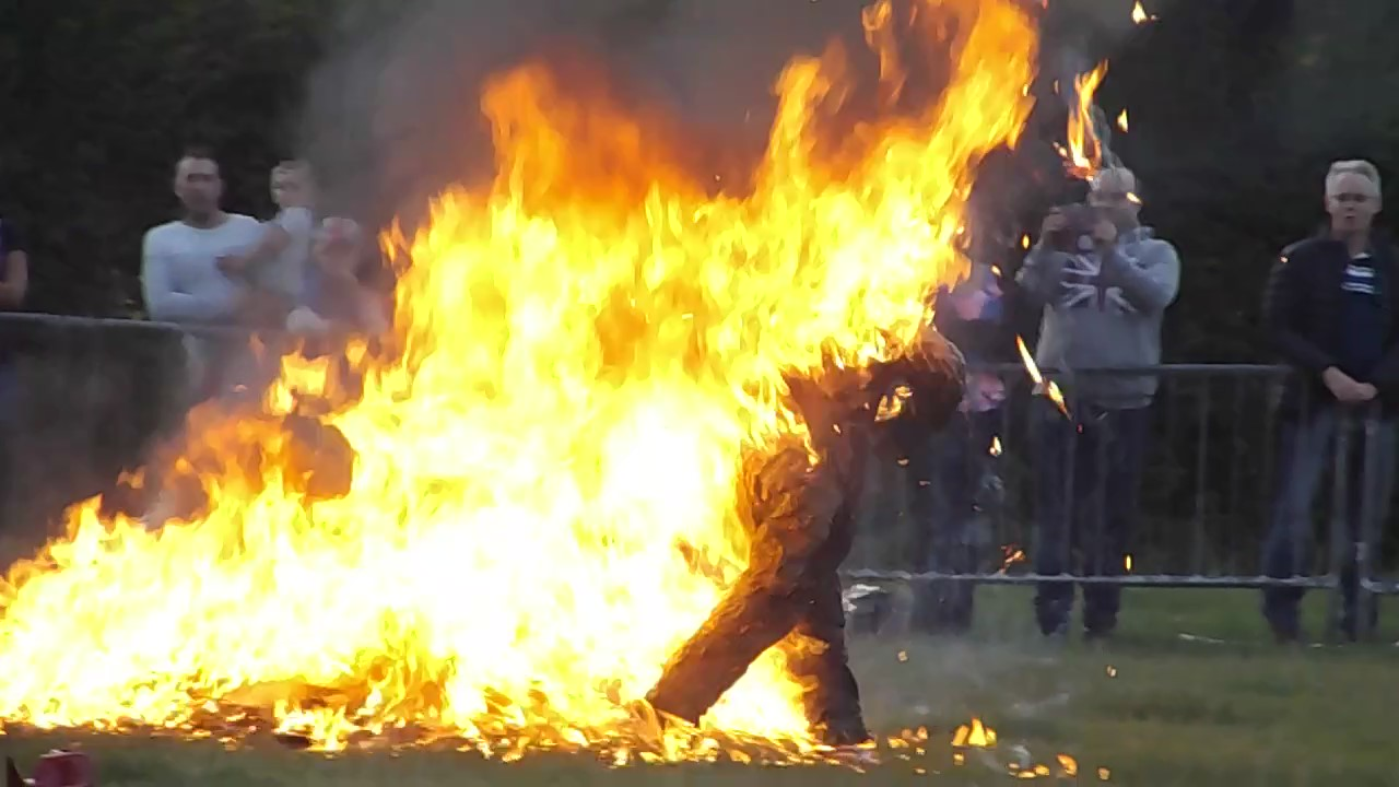HUMAN FIRE RUN