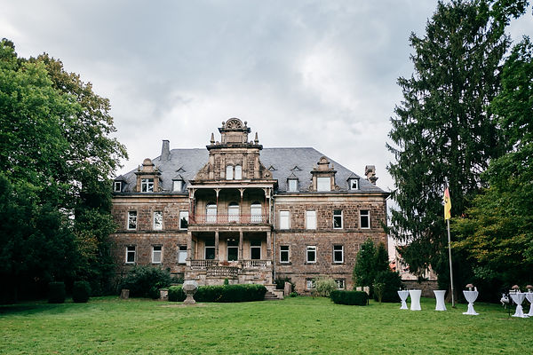 Parkansicht Schloss