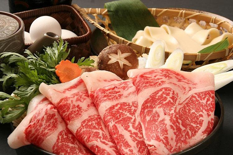 牛屋 江戸八の食べ放題セット