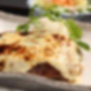 牛肉100%チーズハンバーグ膳