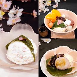 (季節限定)桜アイスで春の甘味3種
