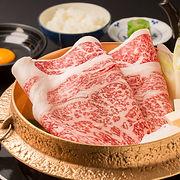 【黒毛和牛】お昼の国産牛すきやきセット