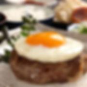 牛肉100%エッグハンバーグ膳