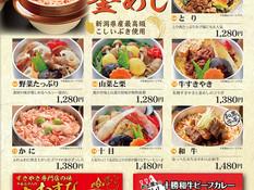 【お持ち帰り】江戸八の釜めし・肉むすび・十勝和牛ビーフカレー