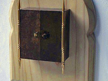 3-Dimensional Gold Plated Triptych Box Painting (No1)
