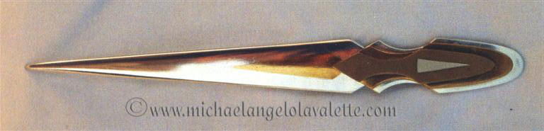 Inlaid letter opener