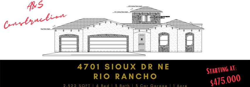 UNDER CONTRACT - 4701 Sioux Dr NE Rio Rancho