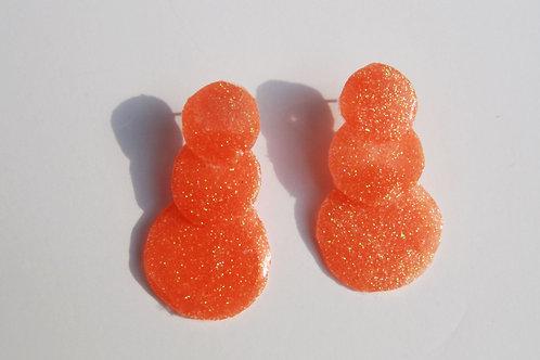 Triple Glitter Studs