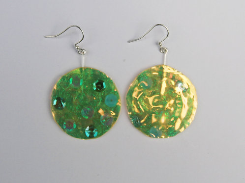 Sequin Holographic Dangles