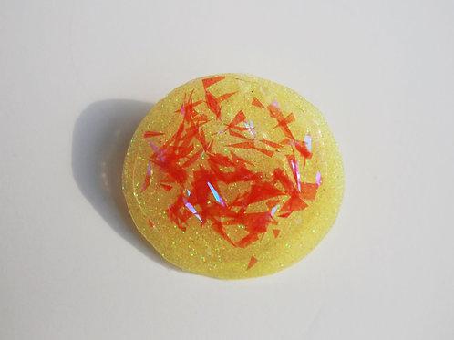 Glitter Pin with Specks