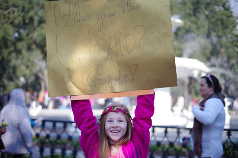 Ambiguity, Femininity: The Women's March 2018