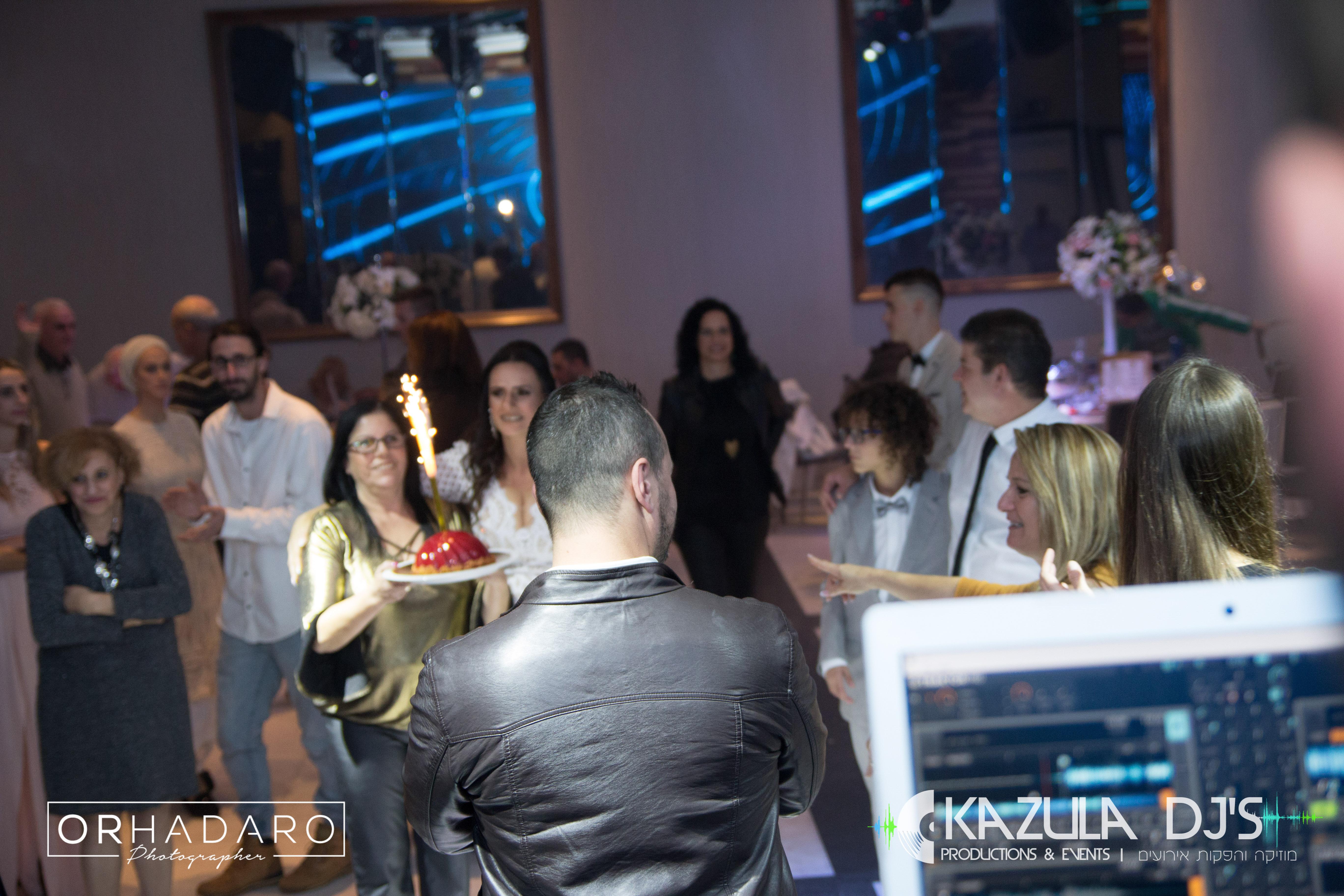 עוגת יום הולדת kazula djs