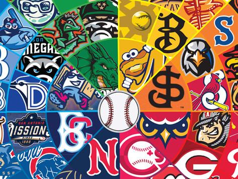 MiLB (Minor League Baseball) Logos