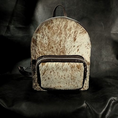 Backpack-Brown and White S&P
