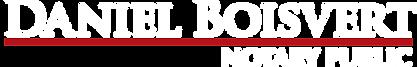Daniel Boisvert Notary Logo.png