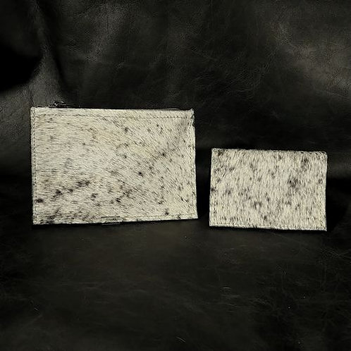 Coin and Card Holder - Black and White S&P
