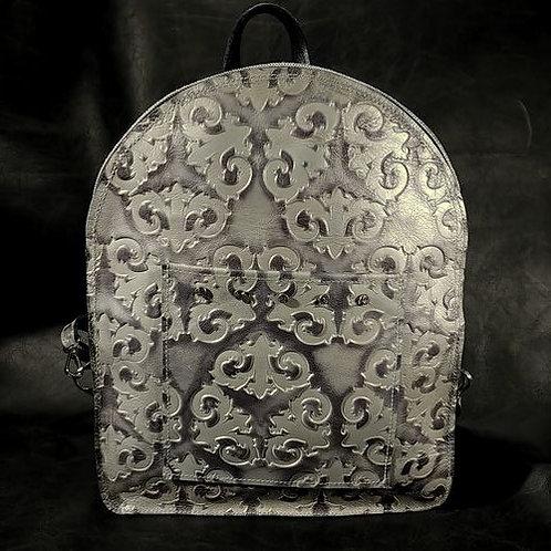 Backpack - Grey Stamped
