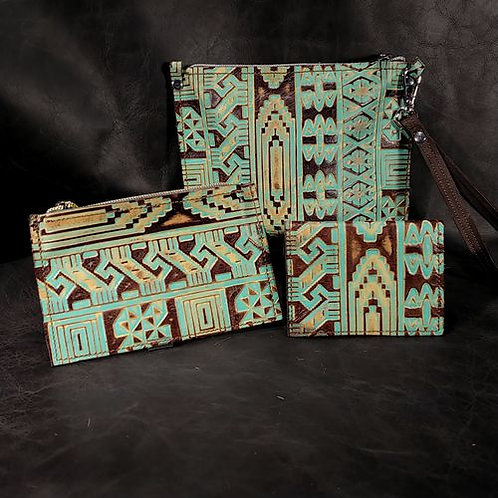 Catch All Sets - Stamped Turquoise
