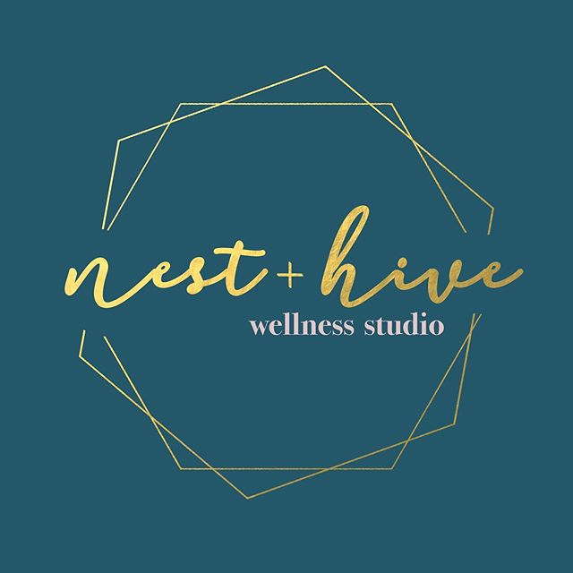 Nest + Hive Wellness Logo