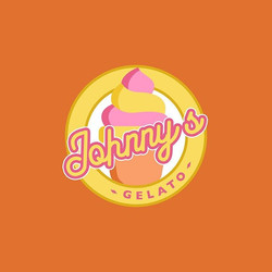 Johnny's Gelato Logo Concept