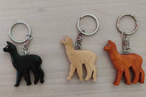 Alpaka-Schlüsselanhänger