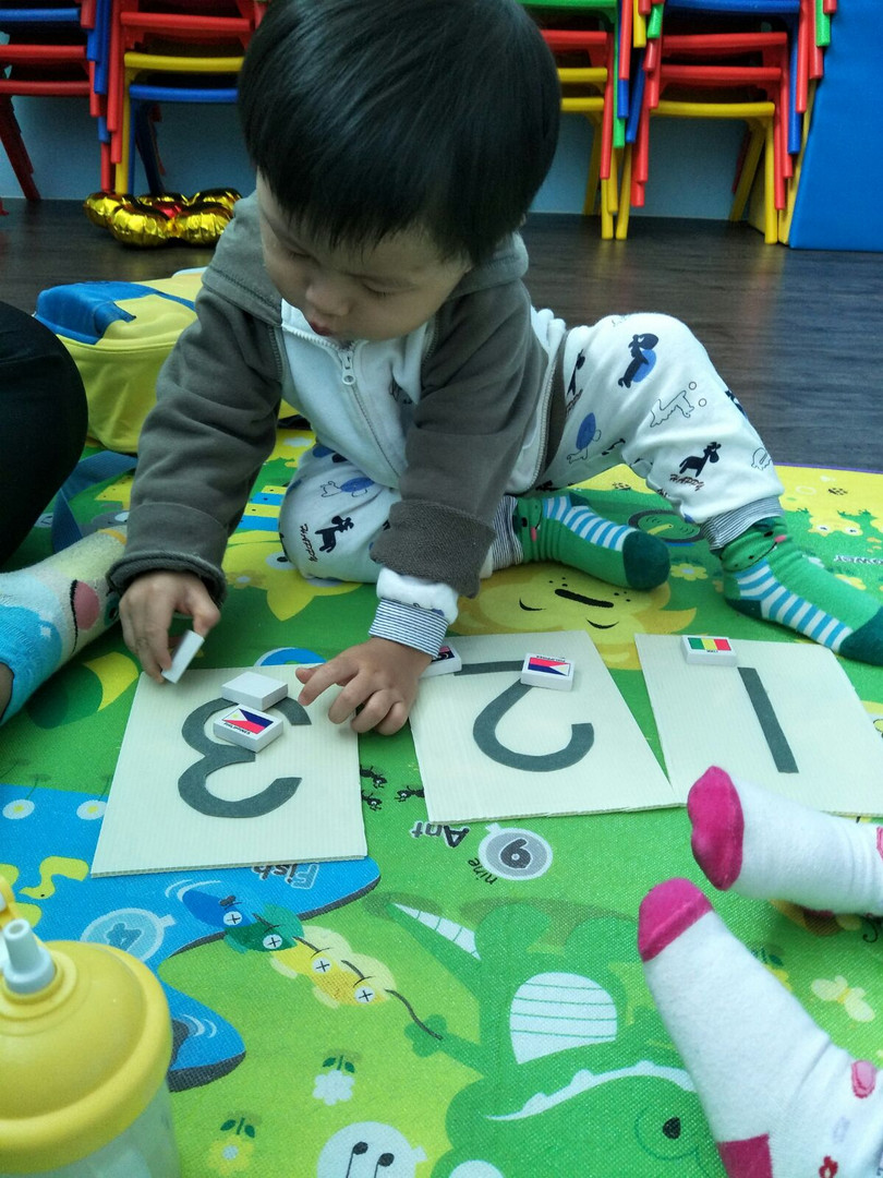 Playgroup Edutainment - Familiarising with Numbers