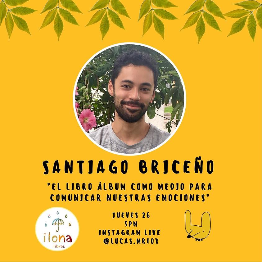 Santiago Briceño y el mundo emocional que habita en la literatura para niños
