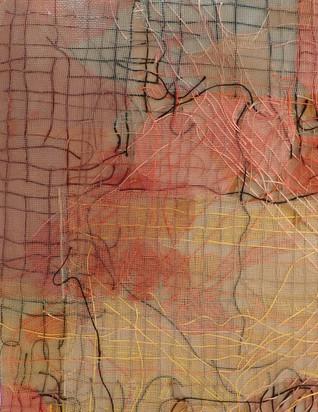"""Inner Rivers Run Deep -1"" (Detail View)"