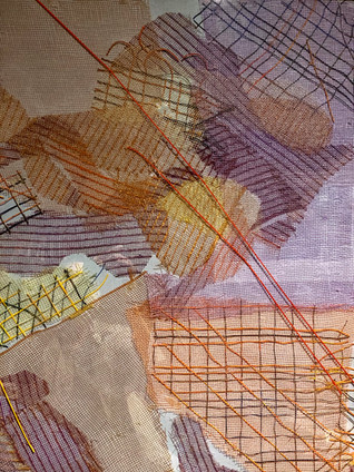 """Inner Rivers Run Deep -3"" (Detail View)"