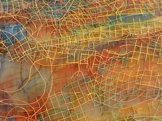 """Inner Rivers Run Deep -2"" (Detail View)"