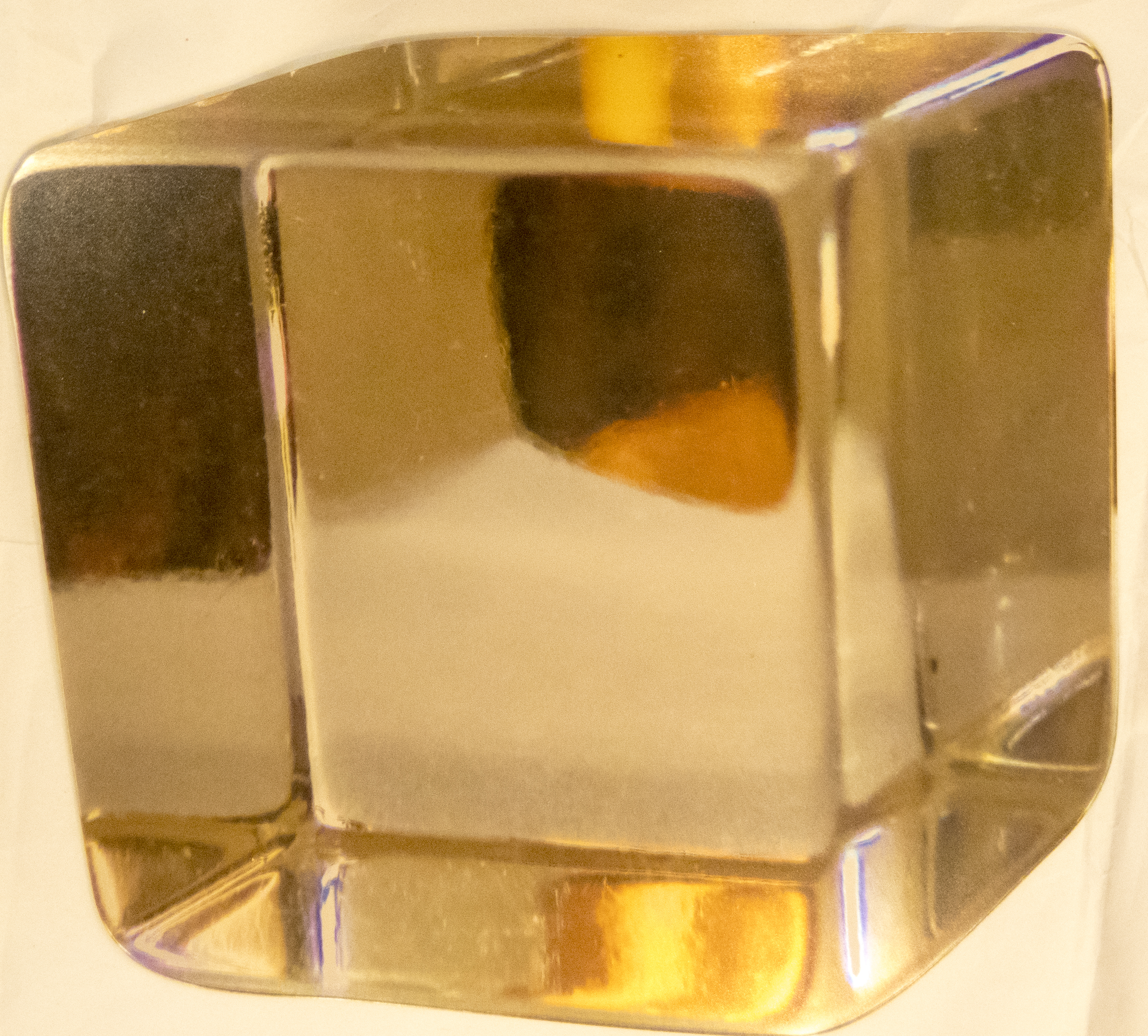 Gold Cube
