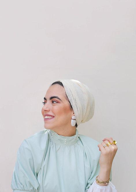 Pastel Yellow Jamila Turban