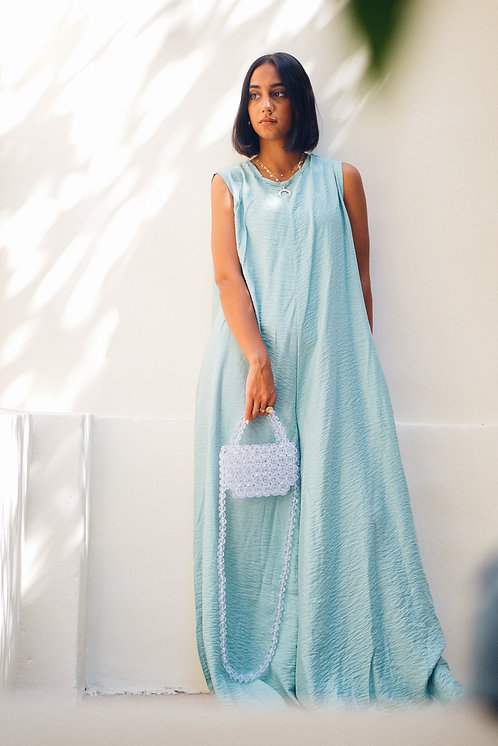 Mint Oversized Jumpsuit