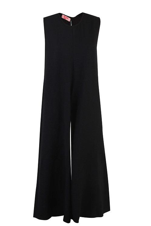 Black Oversized Jumpsuit