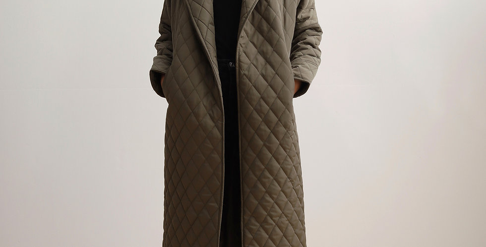 Long Waterproof Trench