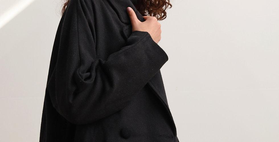 Oversized Jacket in Black
