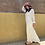 Thumbnail: White Crushed Flowy Dress