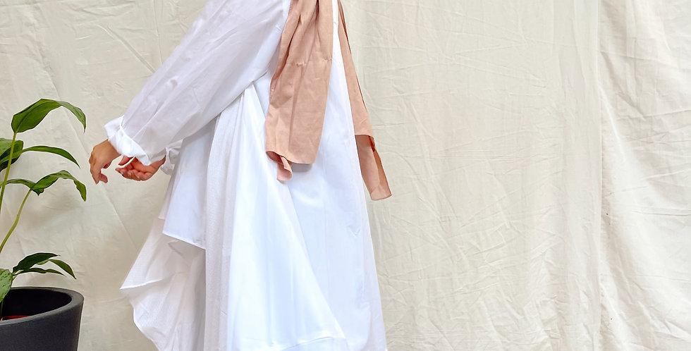 High Low White Shirt