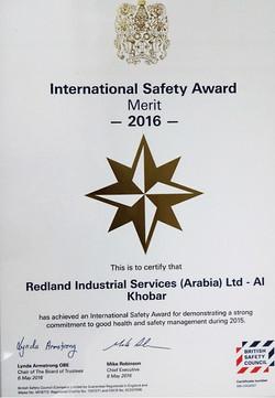 19 Safety award2016