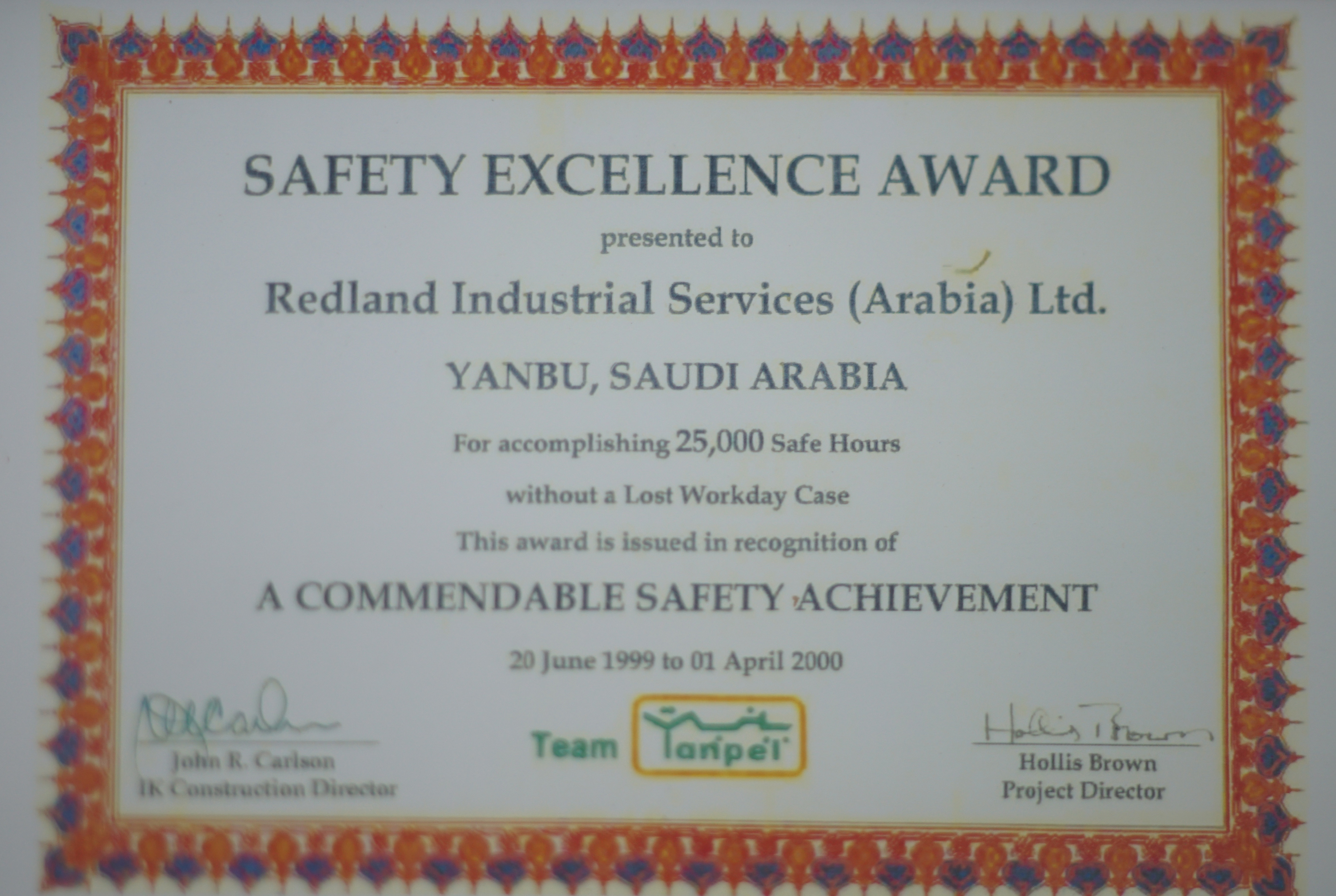01 safety excelence