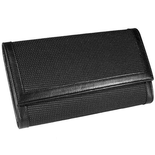 Brieftasche Deluxe Reflect schwarz