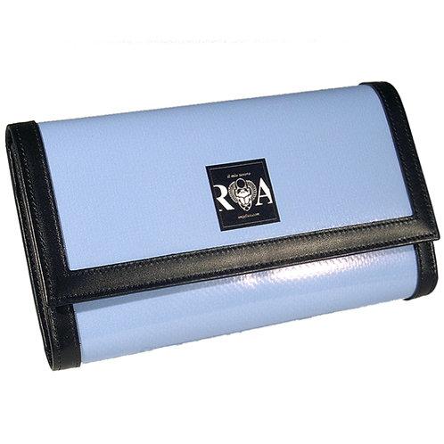 Brieftasche Deluxe uni hellblau