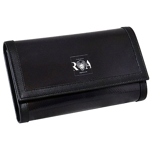 Brieftasche Deluxe  uni schwarz